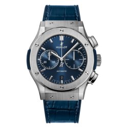 Chronograph Titanium Blue
