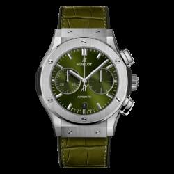 Chronograph Titanium Green